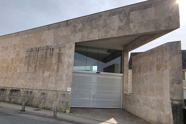 Le musée de l'Hospice Saint-Roch à Issoudun, dans l'Indre.