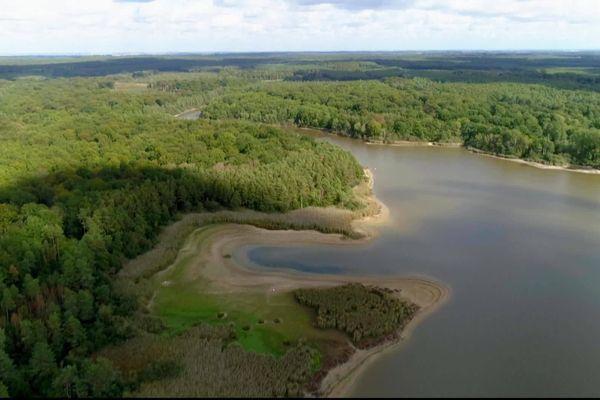 La région Center-Val de Loire vue du ciel