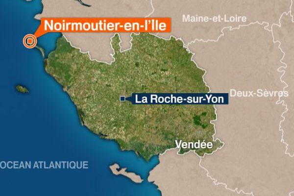 L'embarcation a été retrouvée vide au large du nord du port de L'Herbaudière