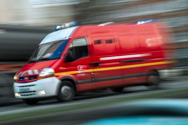 Image d'illustration. 5 engins du SDIS (Service départemental d'incendie et de secours) ont été dépêchés surplace.