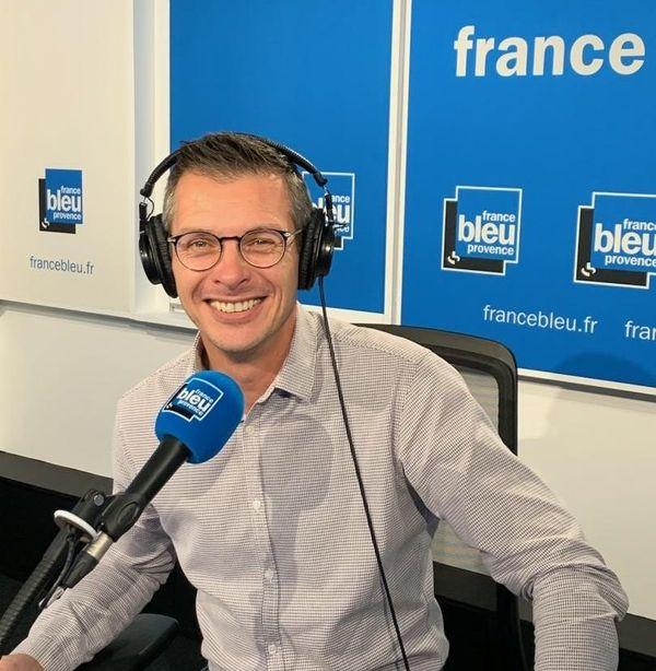 Philippe Richard, animateur de la matinale de France Bleu Provence.