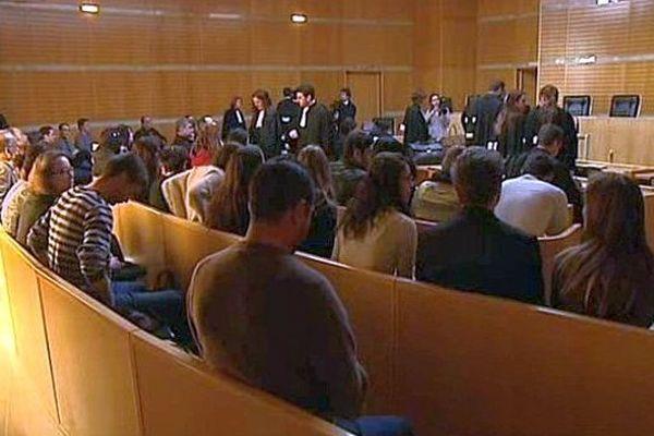 Montpellier - audience du tribunal correctionnel - mars 2014.