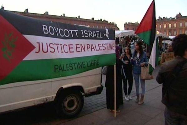 Ils protestent contre la venue de  Benjamin Netanyahu