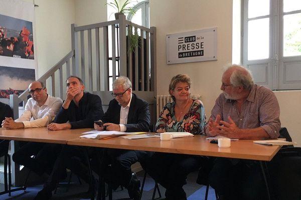 Raphaël Glucksmann (Place Publique), Ronan Dantec (Sénateur EELV), Isabelle Thomas (Génération.s de Benoit Hamon), René Louail (ex conseiller régional EELV),  lancent un appel au rassemblement face aux crises écologiques et sociales