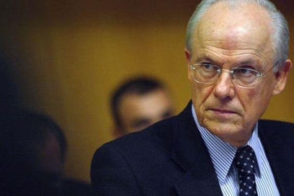 Alain Lambert, président du conseil général de l'Orne