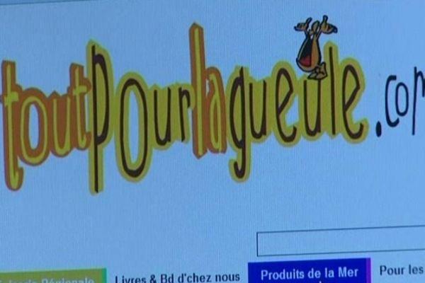 Ce site Internet propose à la vente par correspondance des dizaines de produits picto-charentais