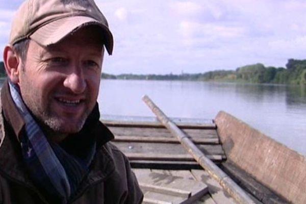 "Nicolas Gruaud, président de l'association ""Les marins du port de Chambord"""