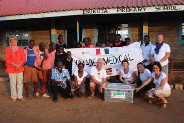 Mission de l'association Nomade médical en 2016 au Kenya