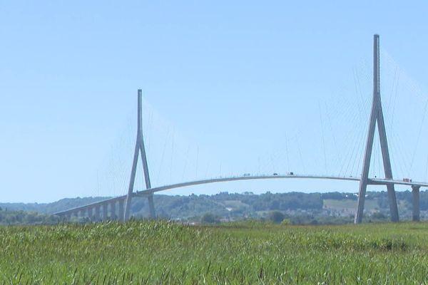 Le pont de Normandie est en travaux jusqu'à la mi-novembre.