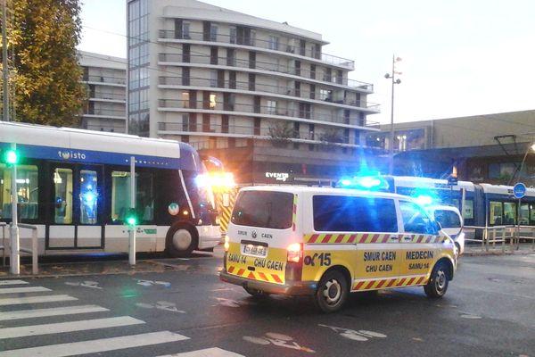"""Un """"accident voyageur"""" est à l'origine de la paralysie du tramway ce matin à Caen."""