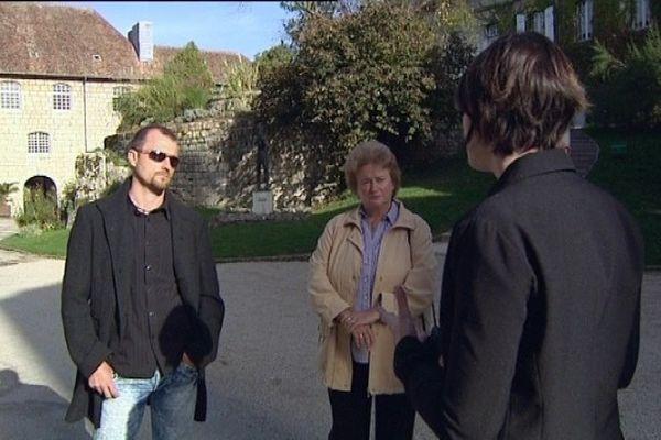 La famille Wojtaszyk est venue à la Citadelle de Besançon pour en savoir plus sur le passé de leur père et grand-père détenu prisonnier à la fin de la seconde guerre mondiale