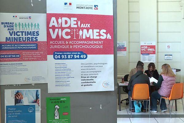 Le bureau d'aide aux victimes déplacé pour l'occasion au Palais de justice de Nice - 21.02.20