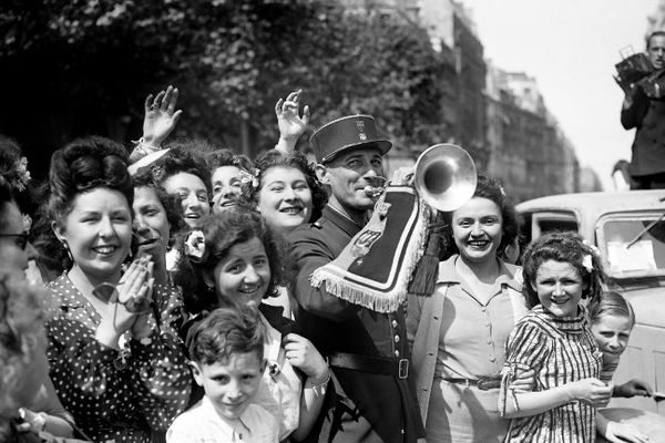Le 8 mai 1945 à Paris