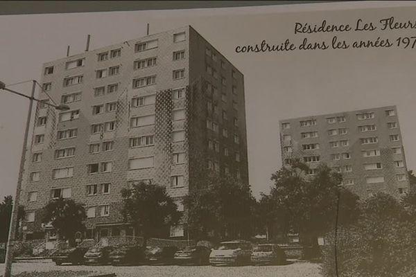 Un des bâtiments d'habitation construit par Renault pour ses salariés à Cléon.