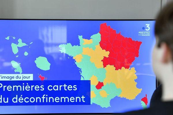 L'ensemble des départements auvergnats est placé en orange sur la carte du déconfinement.
