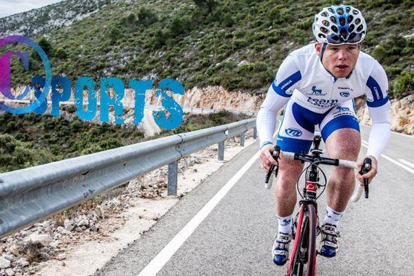 Quentin Valognes sous les couleurs du Team Novo Nordisk