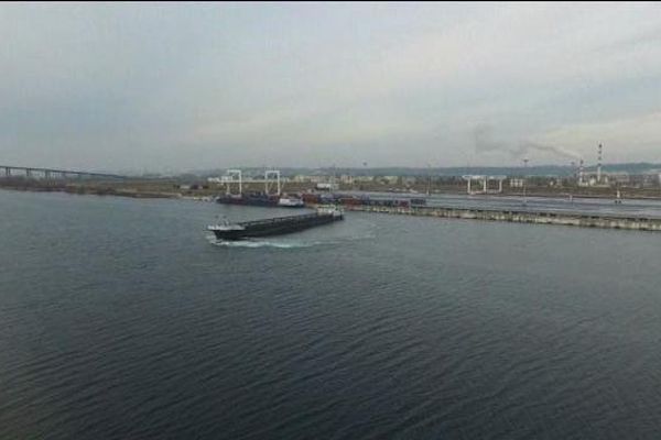 Terminal multimodal du Havre