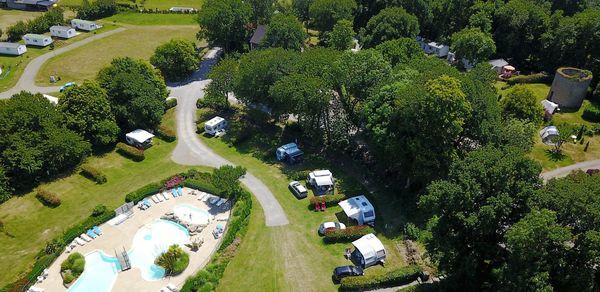"""Le camping """"Le Balcon de la Baie"""", en Ile-et-Vilaine"""