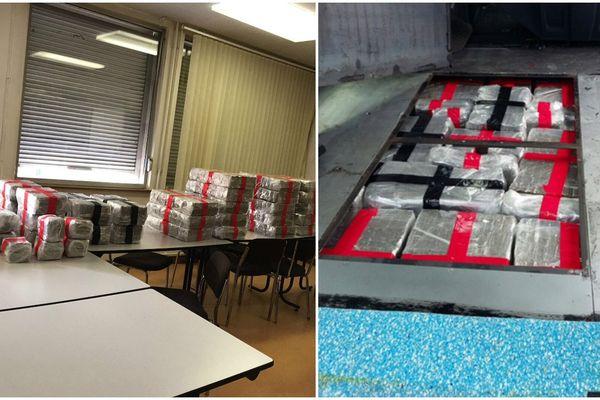 Les douaniers de Metz ont saisi 289 kg de résine de cannabis dans un véhicule qui se dirigeait vers l'Allemagne