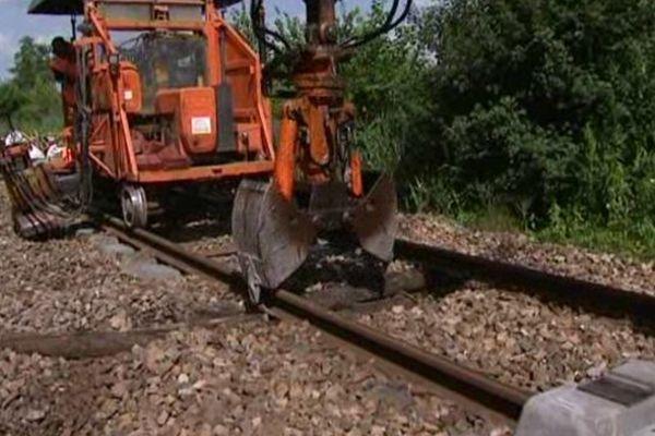 Travaux SNCF sur la ligne Beauvais-Creil