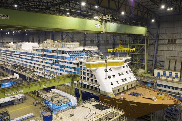 Le chantier allemand Meyer Werft est un des trois principaux chantiers au monde, pour les paquebots de croisière