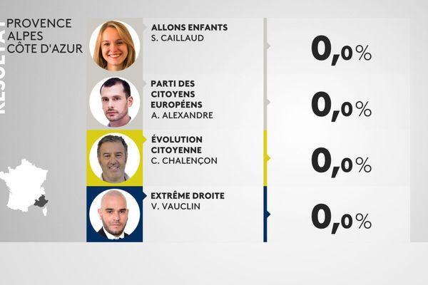 Elections européennes : le score du gilet jaune Christophe Chalençon en Paca.