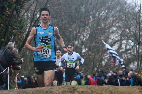 Benoit Fanouillère champion de Bretagne du cross long le 26 janvier à Quimper