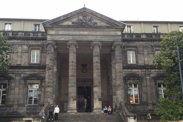 Le palais de justice de Limoges