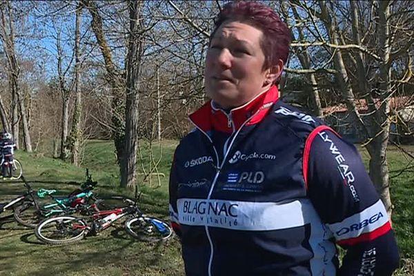 Cathy Moncassin est devenue prof de vélo