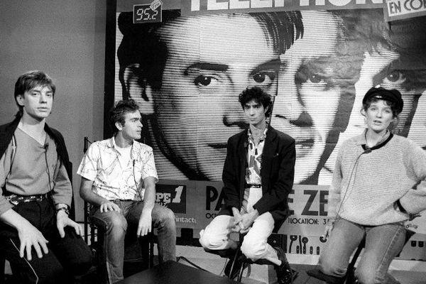 Le groupe Téléphone en 1994.