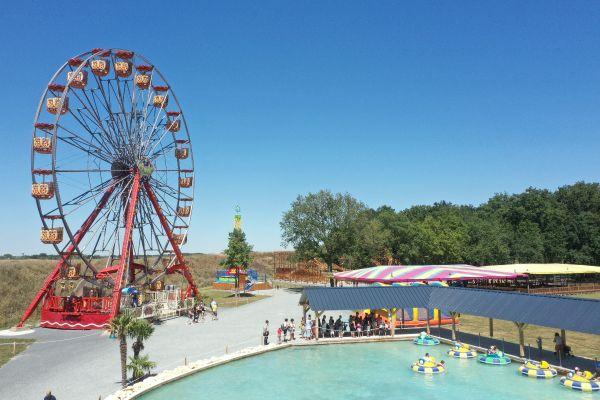 Parc d'attractions Family Park à Sorigny.