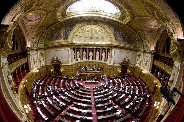Le Palais du Luxembourg, siège du Sénat.