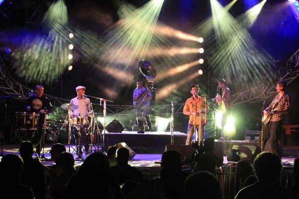 Ceux qui marchent debout en concert en 2009 à Nice.