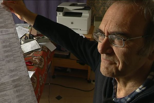 Pierre Dieumegard, ancien professeur de SVT et candidat Europe Démocratie Esperanto;
