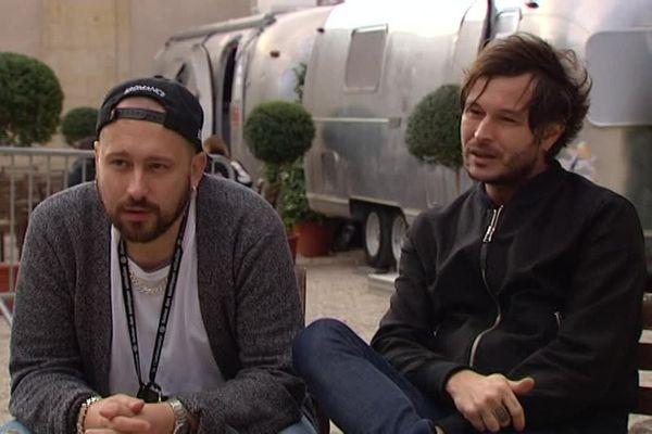 Guillaume Brière et Benjamin Lebeau du groupe The Shoes