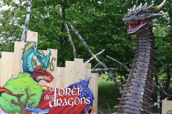 Parmi les nouveautés proposées en 2020 : la forêt des dragons.
