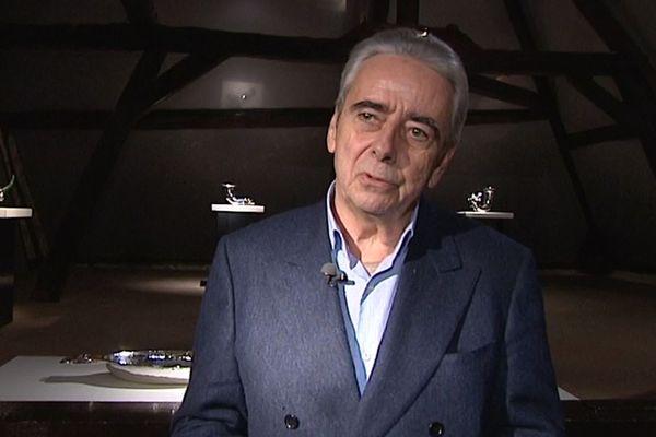 Gérard Capazza, créateur de la galerie Capazza, en 2017