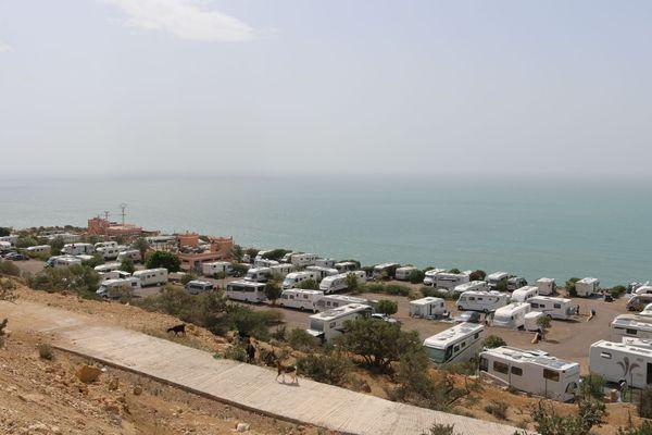 Les campings-caristes français ne peuvent plus quitter le Maroc.