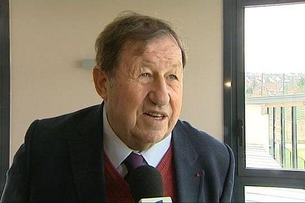 Guy Roux, l'ancien entraîneur de l'AJA