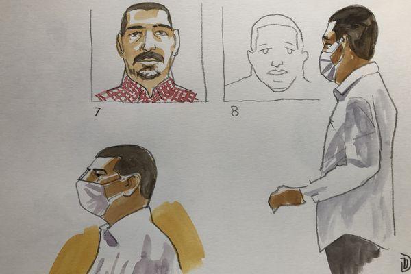 Laurent Dejean accusé du meurtre de Patricia Bouchon au troisième jour de son procès en appel devant la cour d'assises du Tarn, mercredi 30 juin 2021.