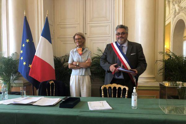 Vendredi 3 juillet, le conseil municipal a élu officiellement Olivier Bianchi maire de Clermont-Ferrand.
