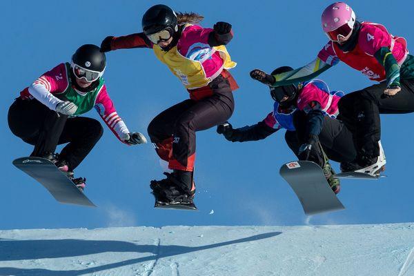 Margaux Herpin (chasuble vert) en argent aux Jeux Olympiques de la Jeunesse de Lausanne 2020