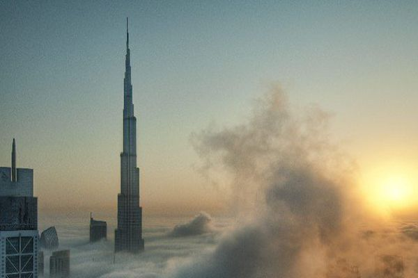 La plus haute tour du monde à Dubaï culmine à plus de 828 m