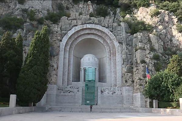 Le Monument aux morts de Rauba-Capeù, à Nice