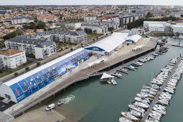 Le village du Vendée Globe 2020 aux Sables-d'Olonne