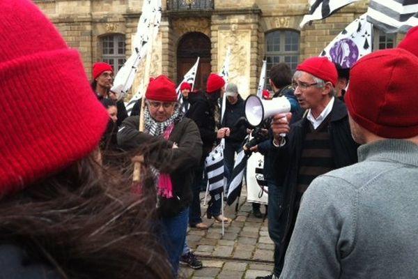 La manifestation des Bonnets Rouges du 8 mai 2014 à Rennes