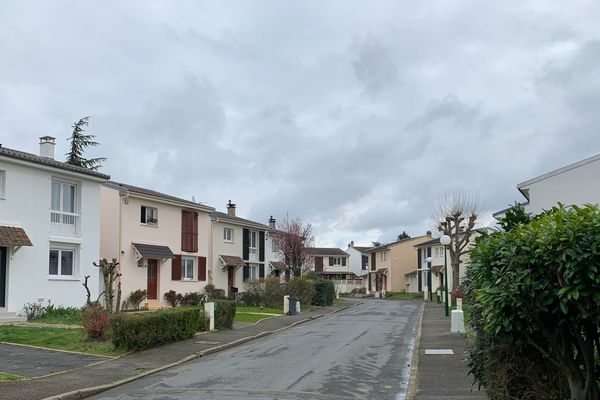La rue de la Passiflore, à Méry-sur-Oise, où a été identifié le cluster de Covid-19.