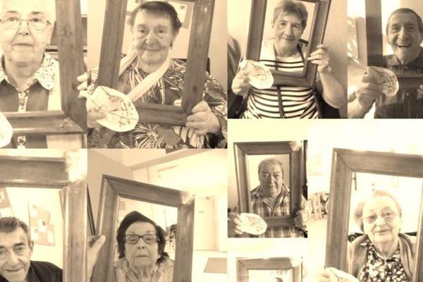 L'Ephad de Charensat dans le Puy-de-Dôme a diffusé un clip sur internet mettent à l'honneur la joie de vivre des résidents et l'engagement du personnel.
