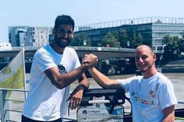 Karim et Colin ont créé l'association Kasmadtrips en 2019
