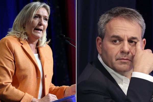 Marine Le Pen perdrait les élections régionales dans un duel face à Xavier Bertrand d'après l'Ifop